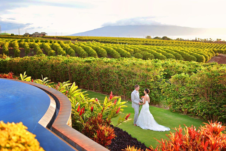Coffee farm maui wedding locations maui weddings