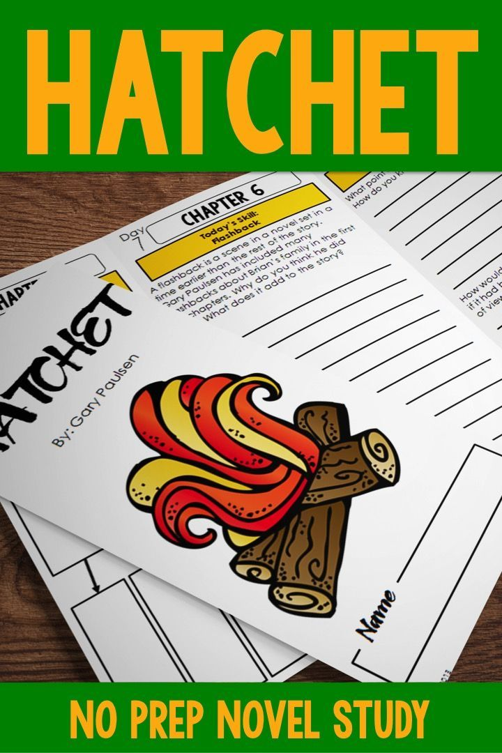 Looking For A Hatchet Novel Study Unit That Will Engage Your Students In Higher Level Thinking About Their Read Hatchet Novel Study Novel Studies Hatchet Novel