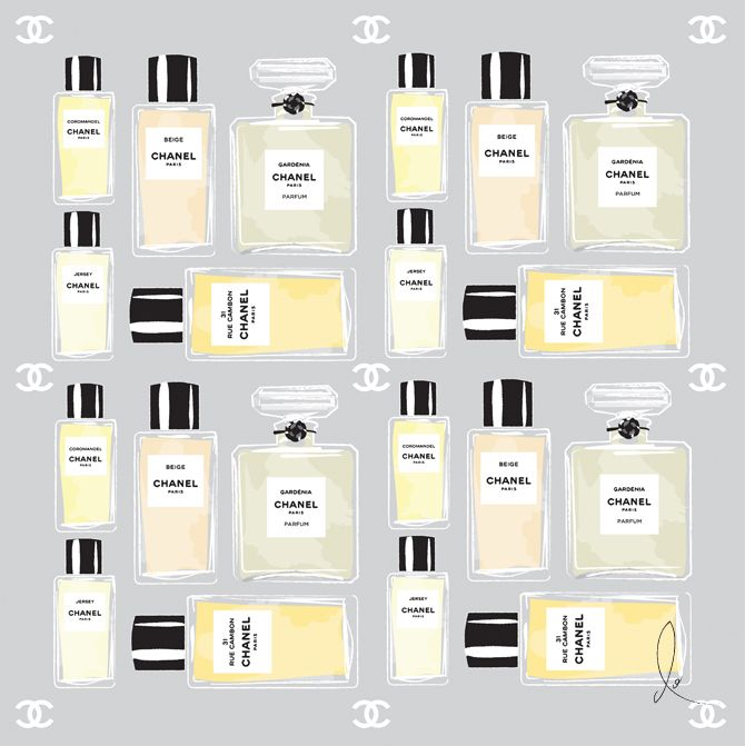Chanel Bottles by Don Oehl