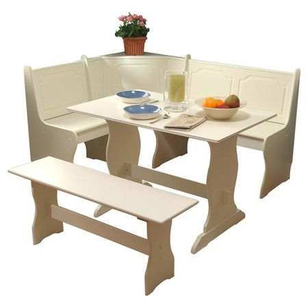 Found It At Wayfair   Nook 3 Piece Dining Set In Antique White