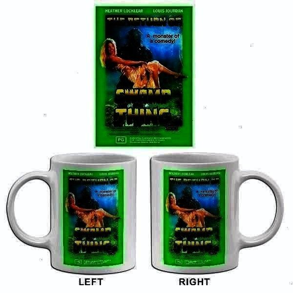 1989  Movie Poster Mug The Return Of Sw The Return Of Swamp Thing  1989  Movie Poster Mug The Return Of Swamp Thing  1The Return Of Swamp Thing  1989  Movie Poster Mug Th...