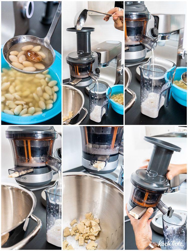 Mandelmilch aus dem Slow Juicer | Rezept | Rezepte