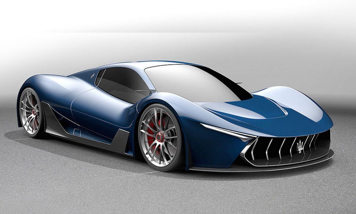 maserati mc-63 concept based on ferrari laferrari | cars and