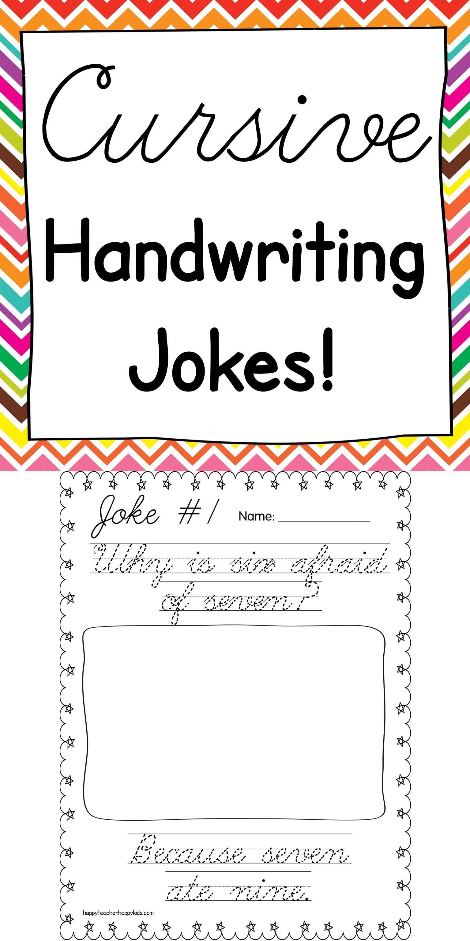 cursive jokes teaching and cursive handwriting. Black Bedroom Furniture Sets. Home Design Ideas