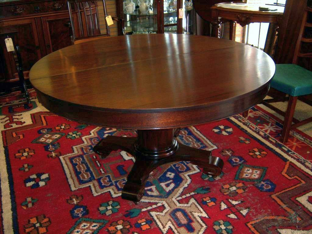 Mahogany Dining Table Federal Empire Style 5 Leaves Mahogany Dining Table Dining Table Dining