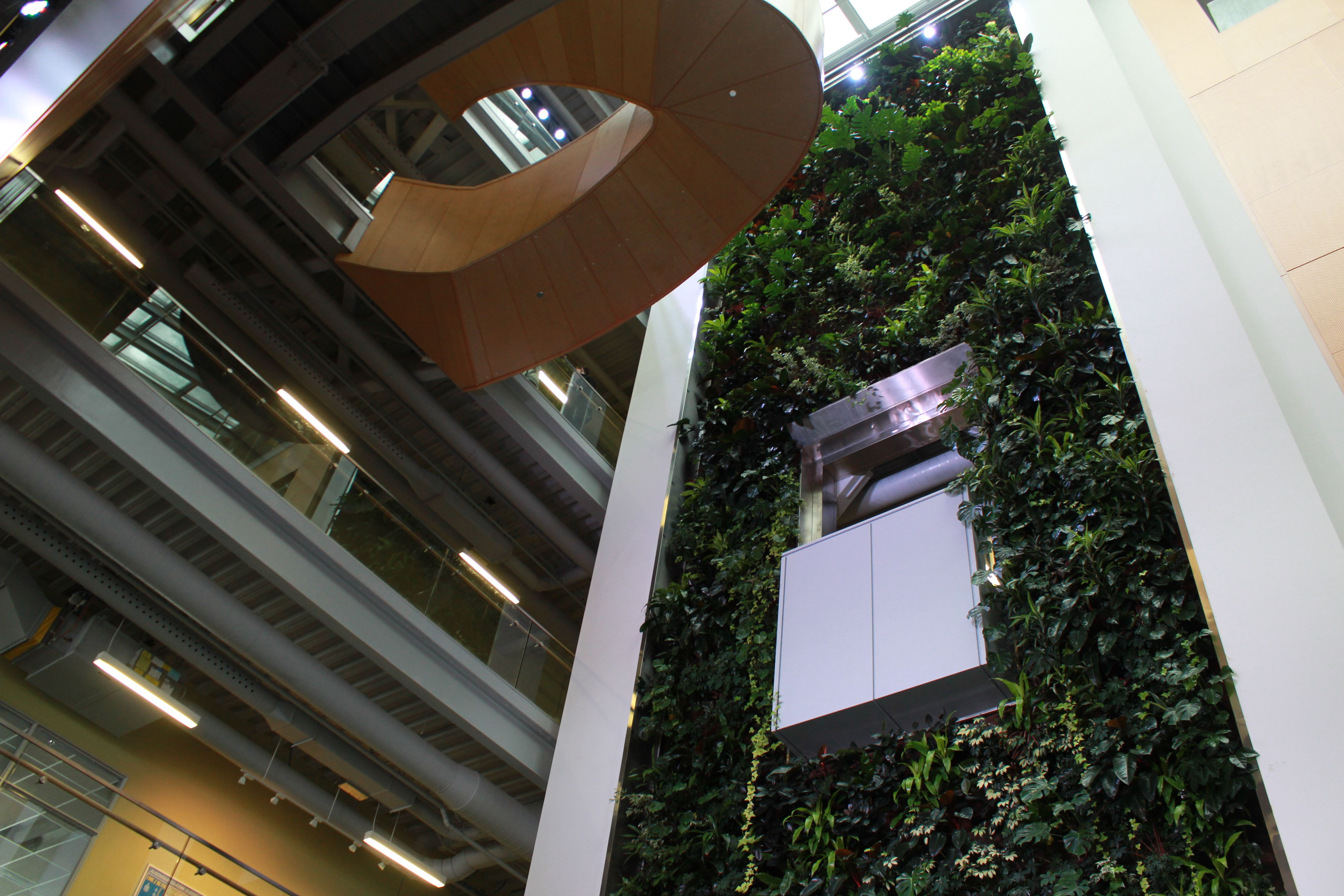 The Living Wall In ACCE Building At Algonquin College Ottawa Ont