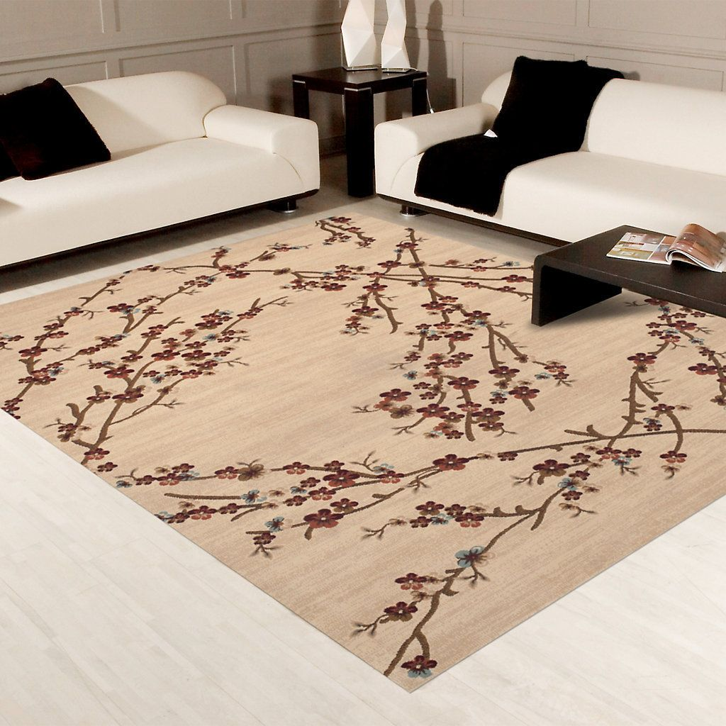 Classique Branches Rug Kohls Rugs Printed Rugs Area Rugs