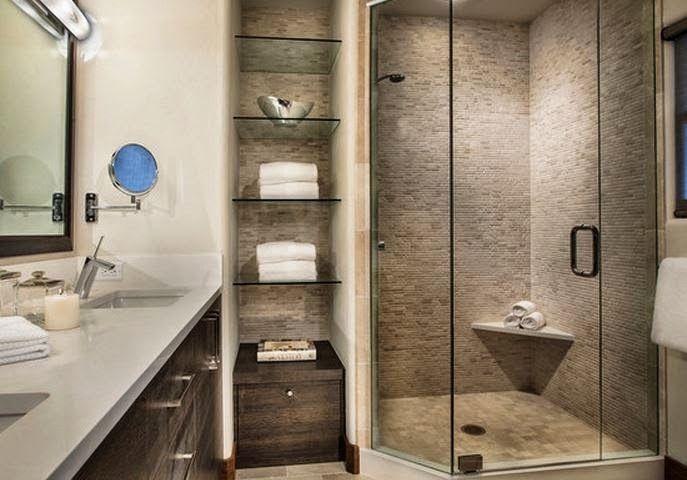 exemple salle de bain | Petite salle de bain, Deco salle de ...