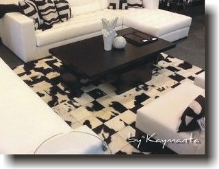 Black White Patchwork Cowhide Rug Sauce Design Hair On Cow Leather Rug Contemporary Rugs M Cow Leather Rug Patchwork Cowhide Patchwork Cowhide Rug