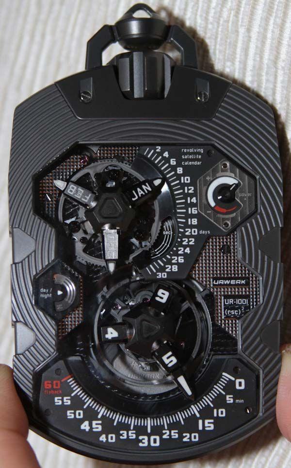 bbbe11ee418 URWERK UR-1001 Zeit Machine Pocket Watch