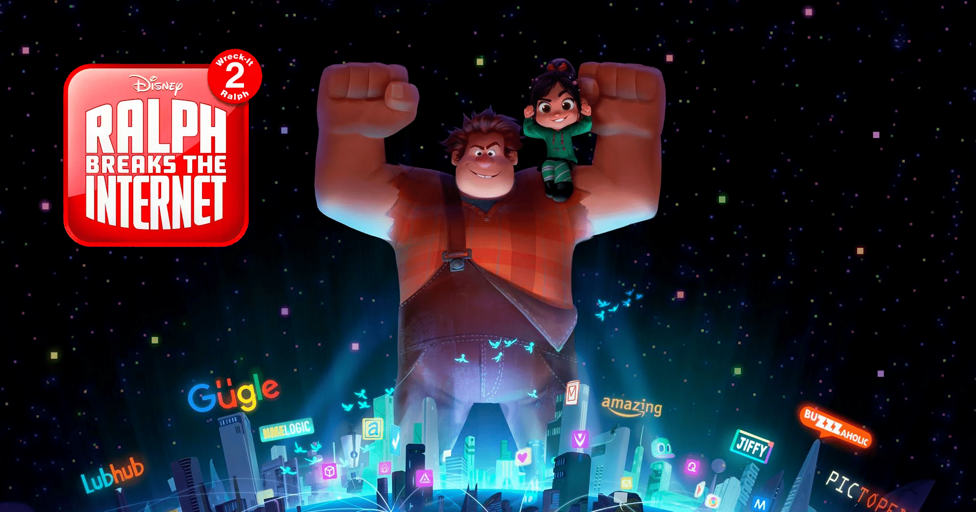 Walt Disney Animation Studios avanzaron el título de Wreck-It Ralph 2 durante su presentación en CinemaCon en Las Vegas: Ralph Breaks the Internet - http://j.mp/2oaAVH5