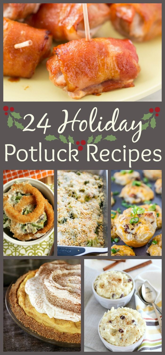 Find Potluck Perfect Appetizers Sides Main Dishes And Desserts In This Fun Roundup Of Recipes