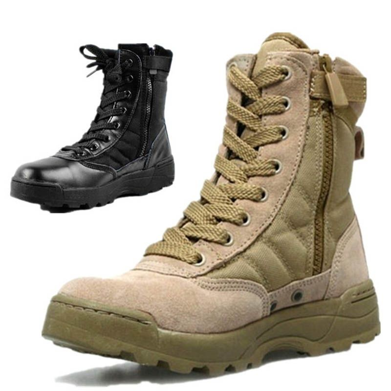 High Top Hiking Boots Male Boots Desert Boots Tactical