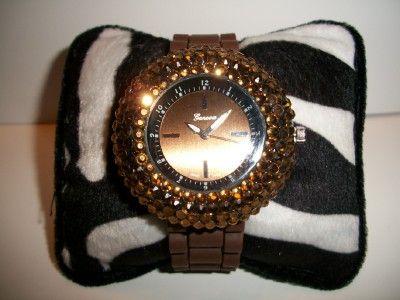 Bling Chocolate Watch.  www.fabulinadesigns.com