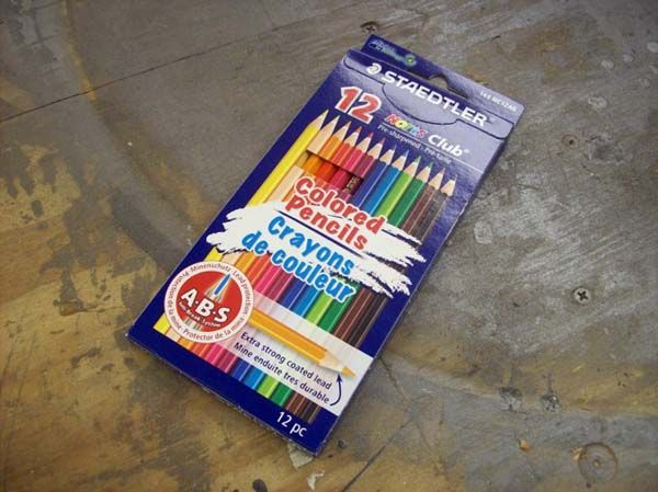 So, A Guy Took Some Colored Pencils And Some Glue. What He Created Is So Cool