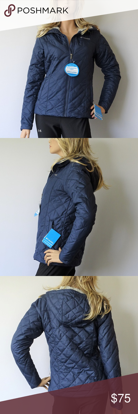 Columbia Copper Crest Insulated Hooded Jacket NWT | Hooded ...