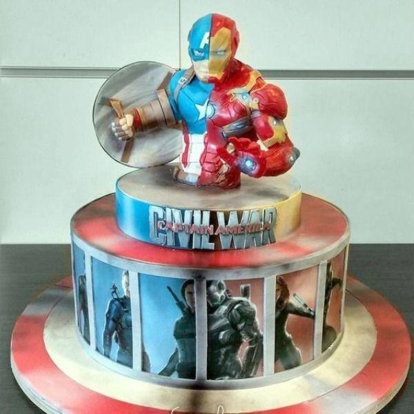 15 Captain America Civil War Party Ideas Captain america civil