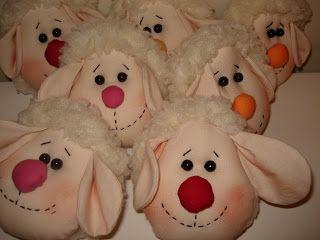 Trabalhos Artesanais em Osasco - Kyria Moura Ateliê: ovelha