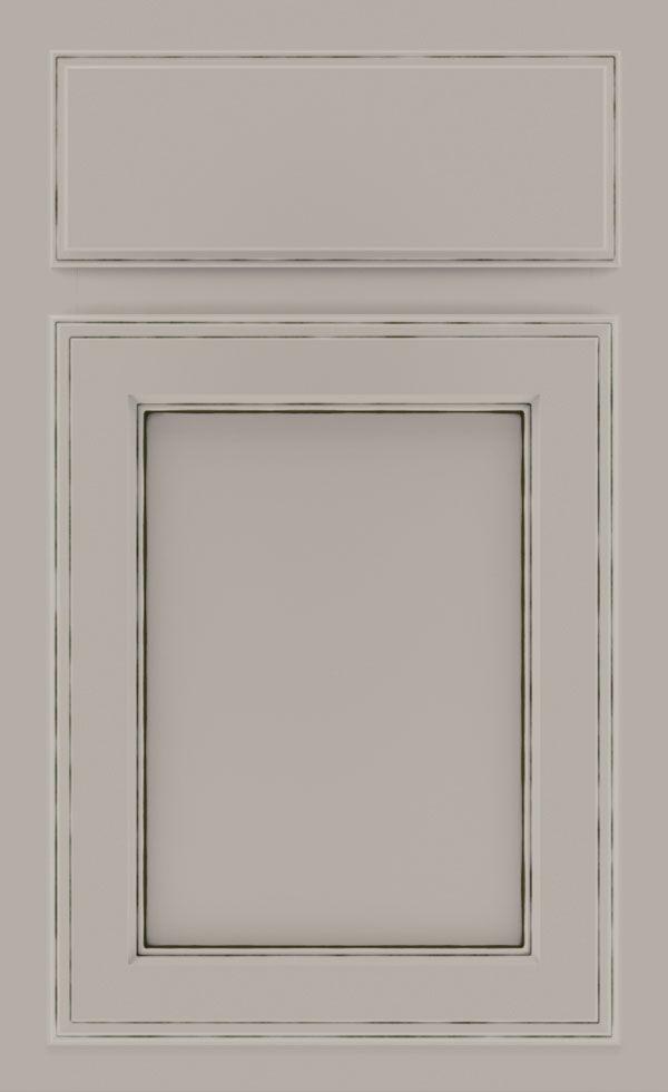 Kitchen Cabinets Brookshire Cabinet In Cloud With Amaretto Creme Glaze Shrock