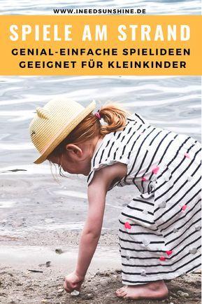 8 Spiele am Strand für Kinder: Kostenlose Strandspiele für Kleinkinder