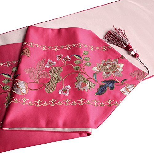 Chinese embroidery table runner living room dining room decorative ...