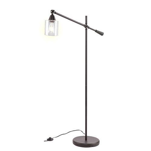 Found It At Allmodern Parthenia 61 75 Task Floor Lamp Black Floor Lamp Task Floor Lamp Lamp