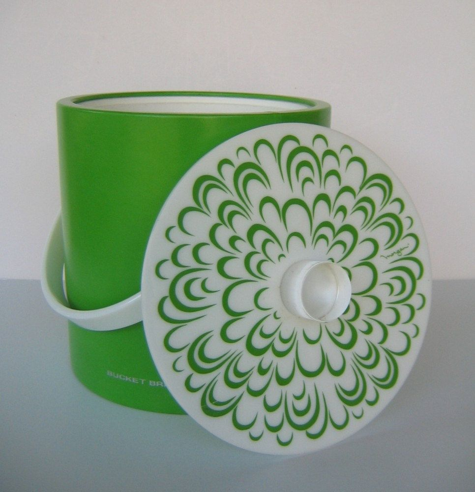 Lime Green Ice Bucket