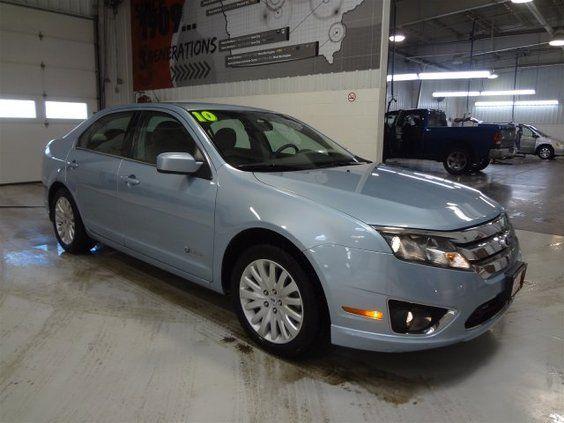 2010 Ford Fusion Hybrid Exterior Light Ice Blue Metallic Blue