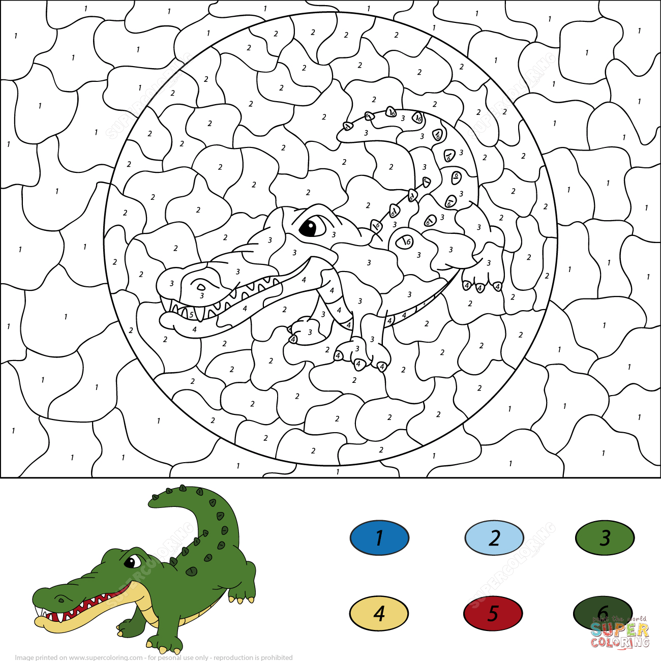 two-monkeys-color-number-printable-coloring-pages-crocodile ...