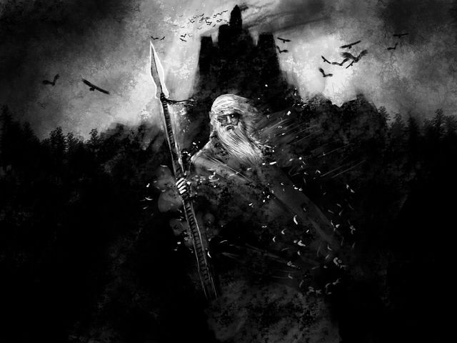 What Norse God Or Goddess Would You Be Norse Odin Mythology Viking Wallpaper