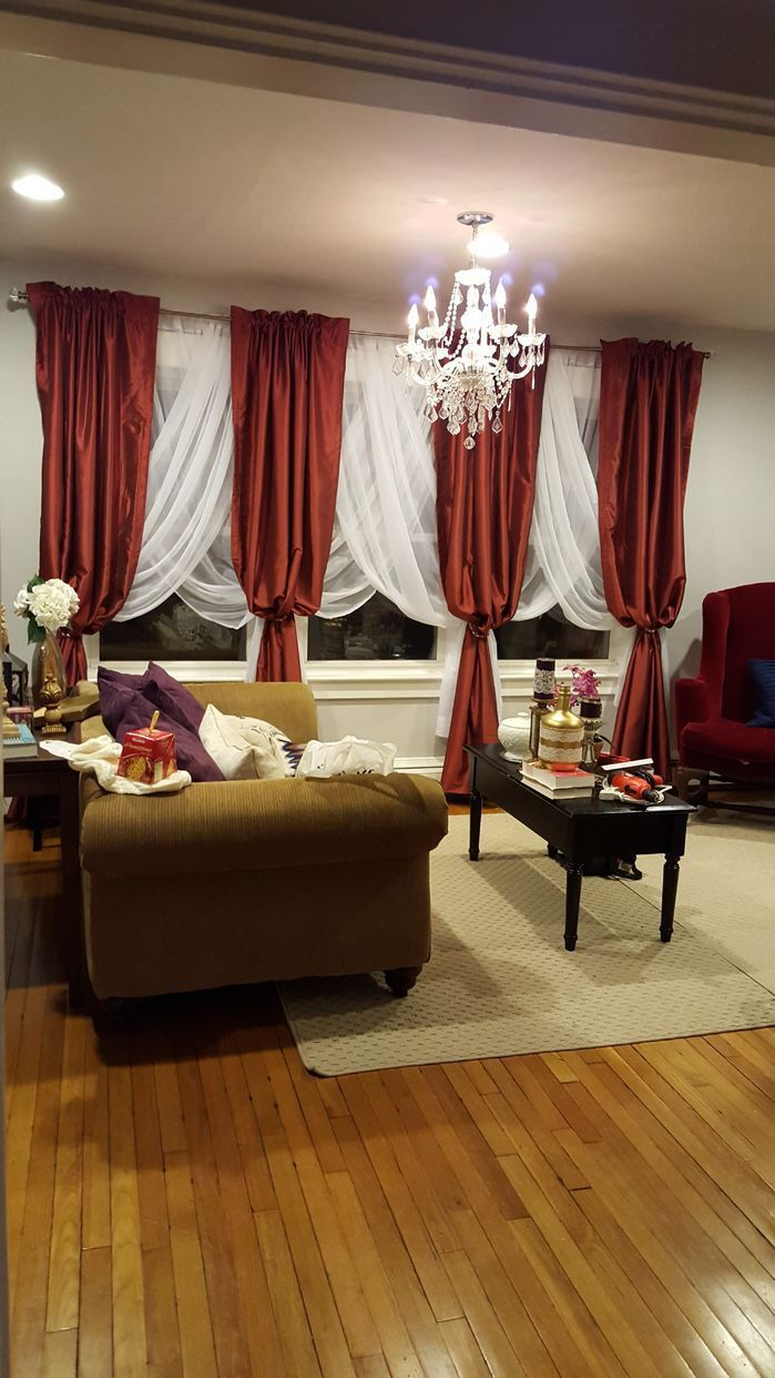 "Features Dry Clean Only96"" Does Include The 3"" Header On The Stunning Living Room Curtains Design Decorating Design"