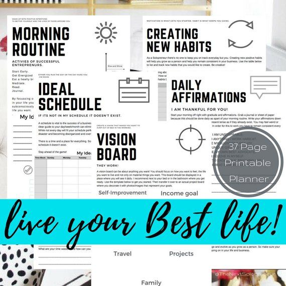 Home Business Ideas 2020.2020 Business Planner Solopreneur Planner Home Business