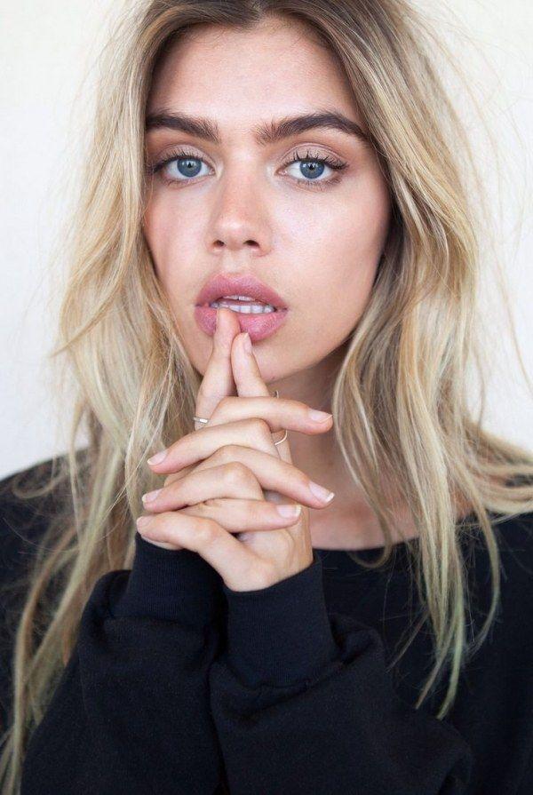 Blonde Hair Dark Eyebrows Google Search Lighten Frighten