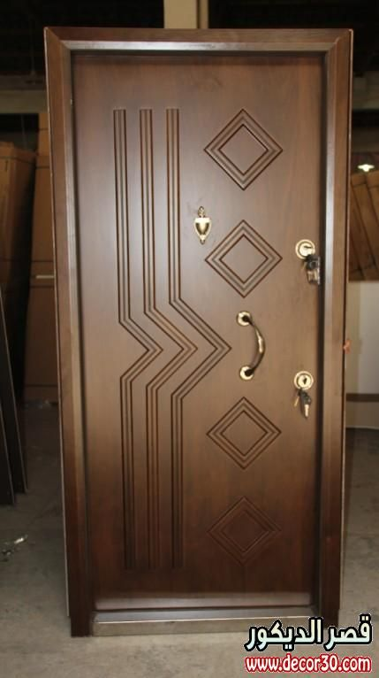 ابواب خشب فخمة عنوان للرقى Door Glass Design Wood Doors Interior Door Design Interior