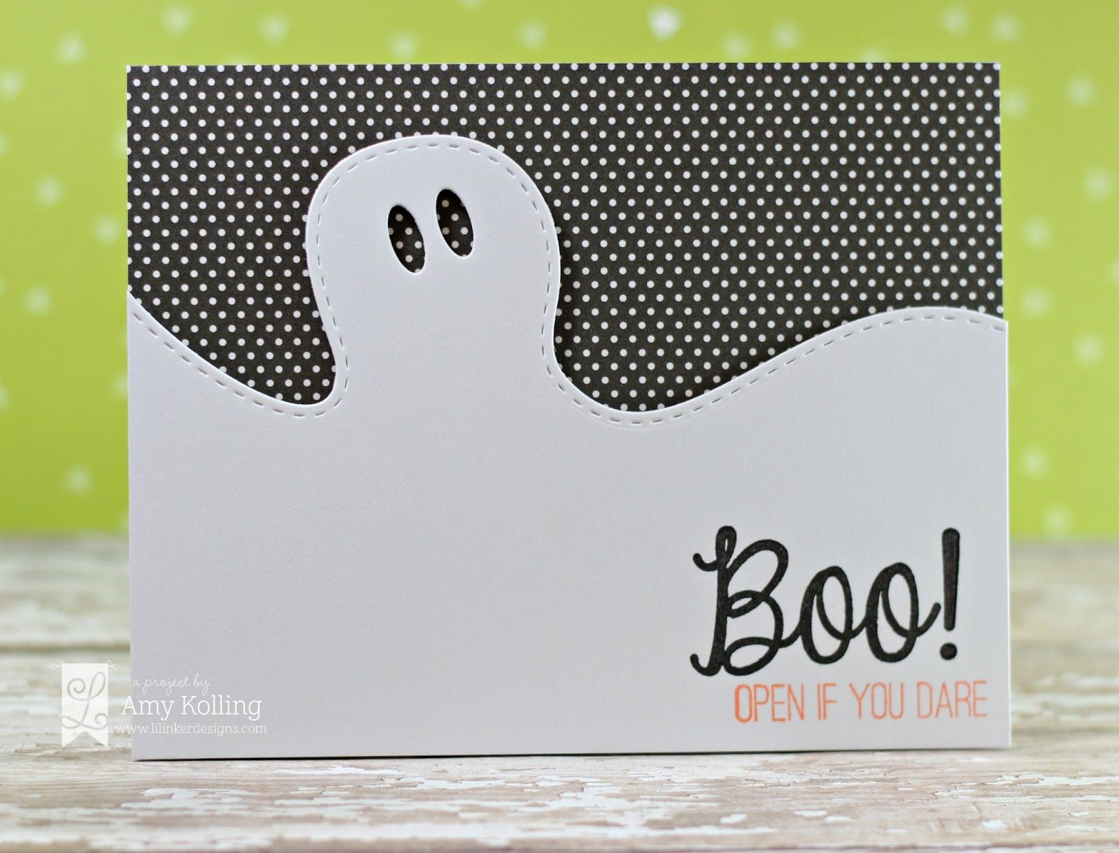 Superior Halloween Cards To Make Ideas Part - 11: Handmade Halloween Card From Lilu0027 Inker Designs ... Clean And Simple .