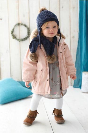mode bébé fille hiver