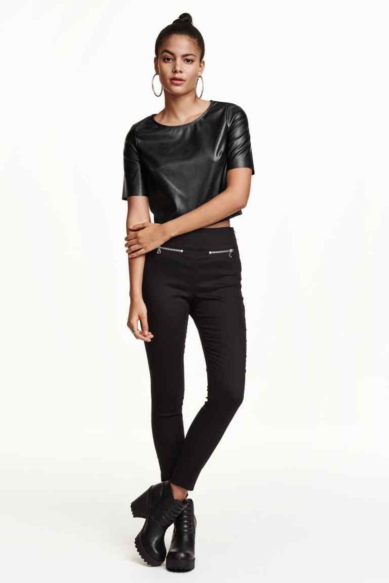 Pantalón en tejido elástico | H&M