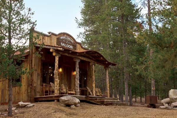 Old West Saloon Designs Far From Any Paved Road Or Town The Mining Company