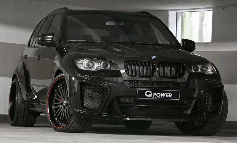 2011 BMW X5 M GPower Typhoon SUV cars (tuning