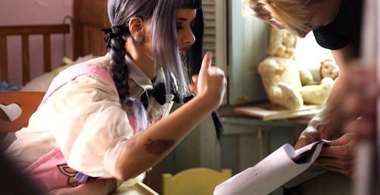 Melanie Martinez Bts Behind The Scenes Of The Cry Baby Music Video Melanie Martinez Christina Perri Bts Behind The Scene