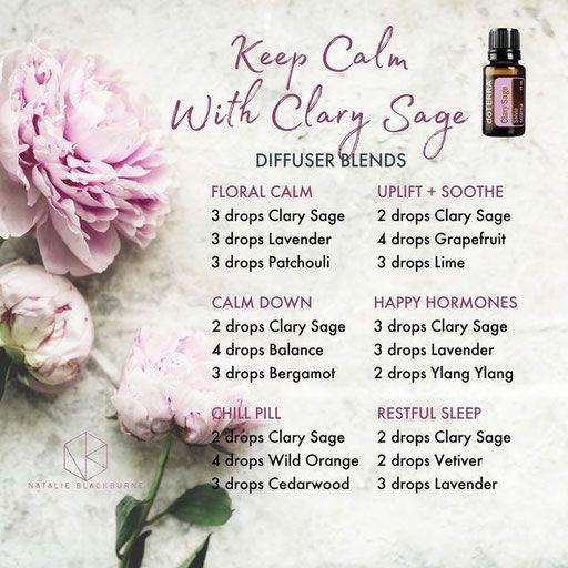 Aroma Welt │doTERRA Clary Sage Oil - Muskatellersalbei ätherisches Öl
