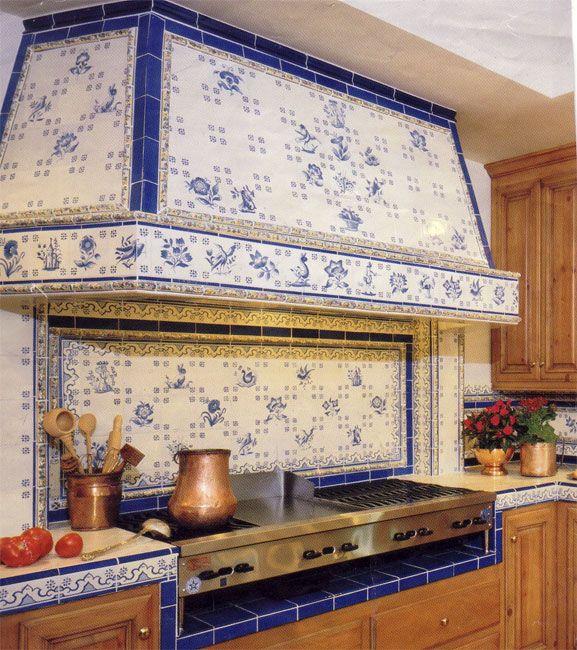 Elegant Backsplash Beautiful Kitchens Portuguese Tiles Kitchen