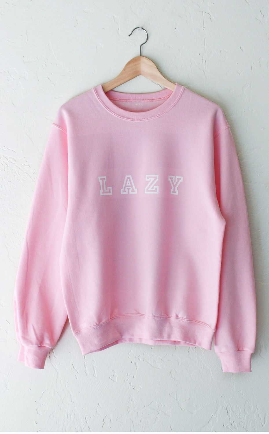 Lazy Oversized Sweatshirt - Pink | Lazy, Cozy and Pink brand