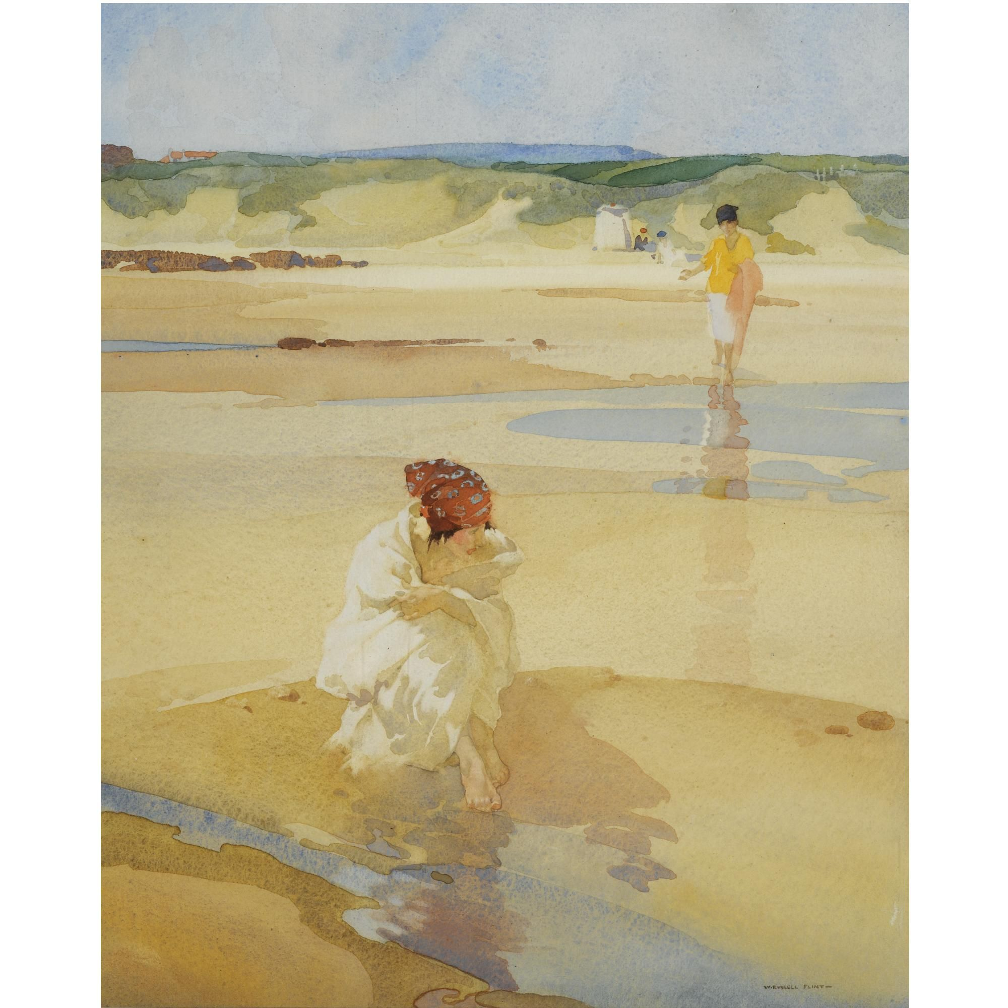Sir William Russell Flint R A P R W S Belinda Sulking