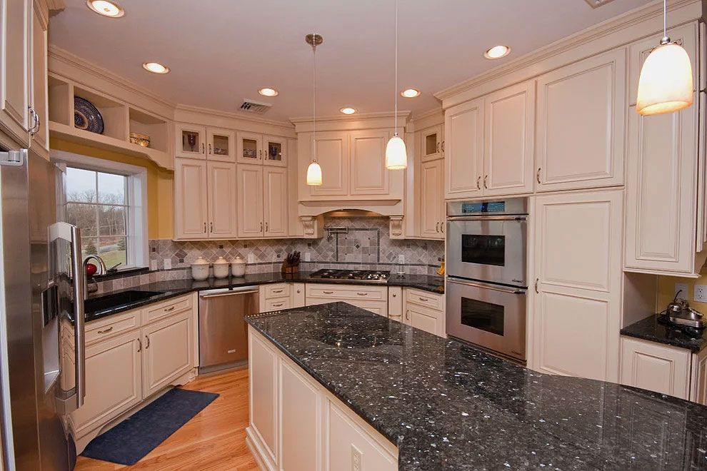 27 most popular green granite kitchen countertops in 2020 green granite kitchen granite on kitchen ideas emerald green id=41674