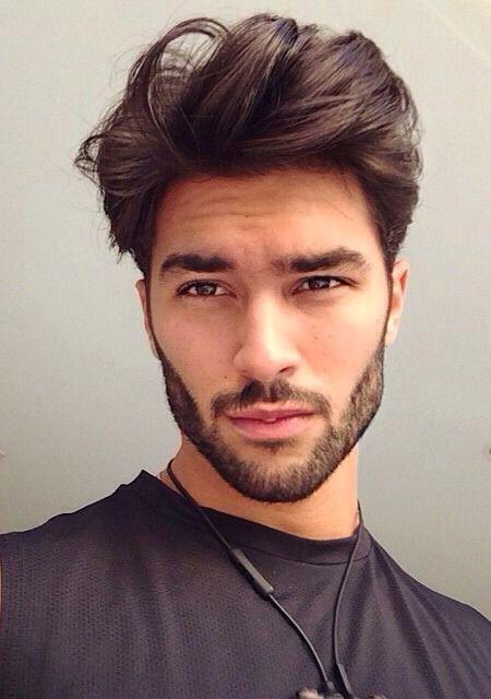 Hair Model Man Marcello 193 Lvarez Tall Dark Handsome