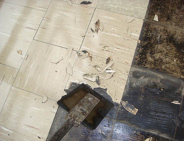 Image Figure 1 Floor Tiles That Contain Asbestos Can Also Have Asbestos Paper Backing Or Be Fixed With Asbestos Containing Asbestos Tile Asbestos Flooring