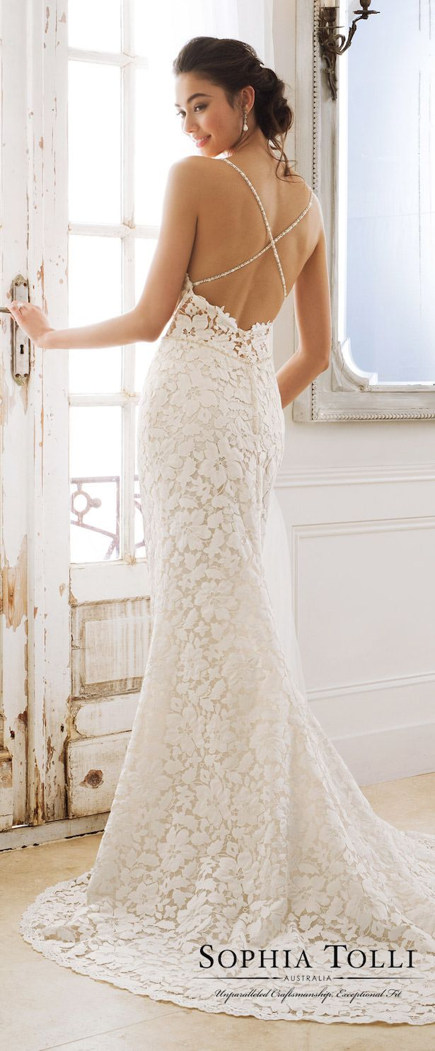 Wedding Dresses by Sophia Tolli for Mon Cheri Bridals Spring 2018