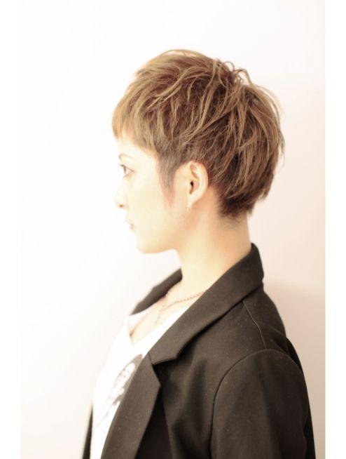 クーヘアーエクラ(COO HAIR E'CLAT) 個性的な刈り上げ モードベリーショート☆☆