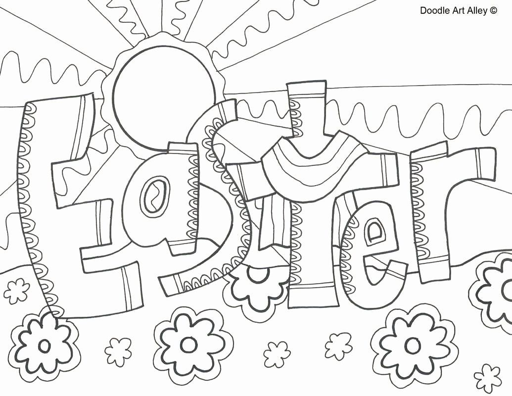 Coloring Pages Animal Doodle Lovely Coloring Pages 52 Doodle Art Alley Quotes Coloring Pa Easter Coloring Pages Printable Easter Sunday School Easter Christian